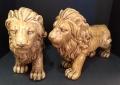 Ceramic Lions