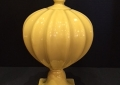Yellow Ceramic Urn
