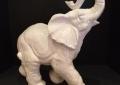 "Ceramic 18"" Elephant"