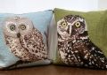 Wool Hook Feather Filled Pillows