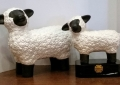 Ceramic Primitive Sheep