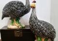 Ceramic Guinea Hens
