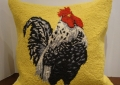 Rooster Hook Pillow